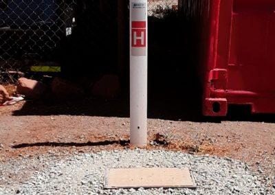 White Hydrant Box